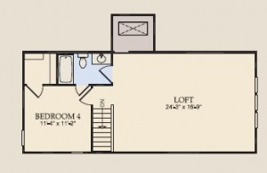 Vernon Hill Loft at Del Webb Orlando