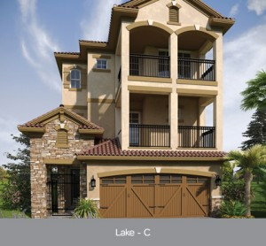 Lake model at Lakeside at Toscana