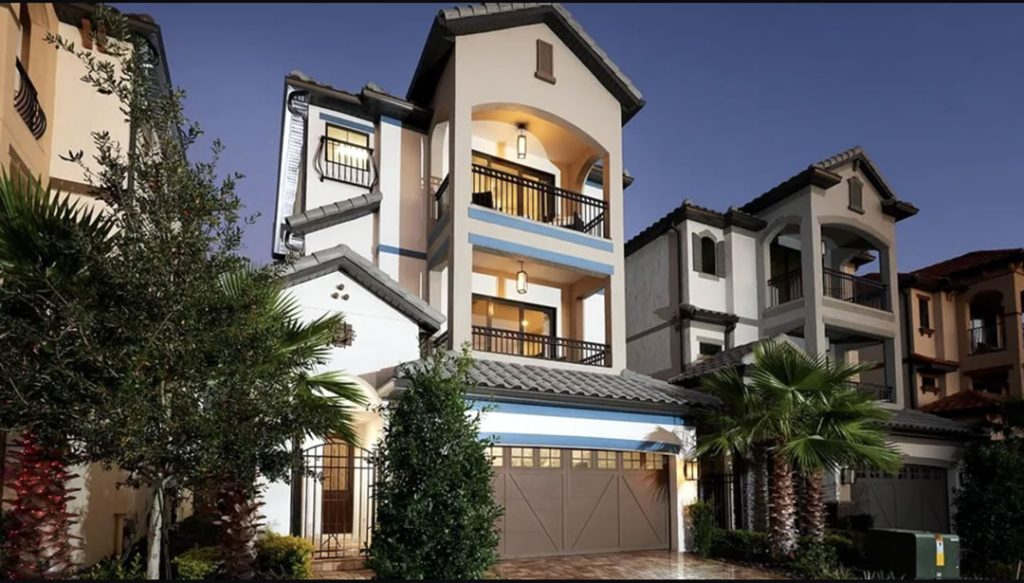 Lakeside at Toscana new homes for sale overlooking the lake