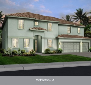 Middleton model vacation homes Solterra Resort Orlando