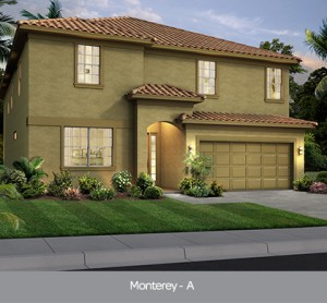 Monterey II model vacation homes Solterra Resort Orlando