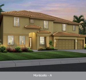 Monticello model vacation homes Solterra Resort Orlando