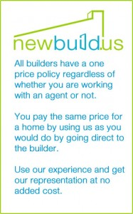 All builders have a one price policy regardless of whether you are working with an agent or not. You pay the same price for a home by using us as you would do by going direct to the builder. Use our experience and get our representation at no added cost.