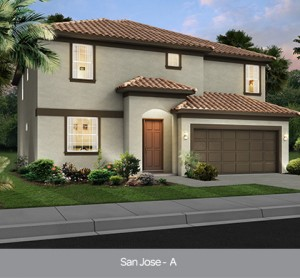 San Jose model vacation homes Solterra Resort Orlando