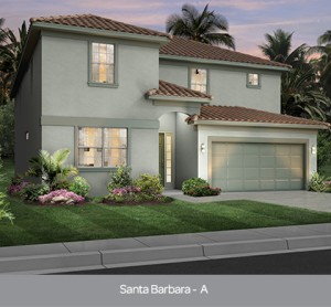 Santa Barbara model vacation homes Solterra Resort Orlando