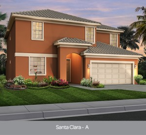 Santa Clara model vacation homes Sonoma Resort Orlando