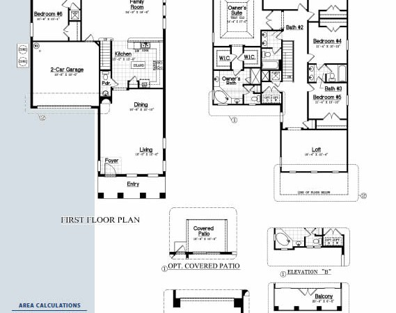 Dr Horton Floor Plans: Solterra-Resort-3511-floorplan-dr-horton