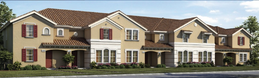 Vacation townhomes at Solterra Resort