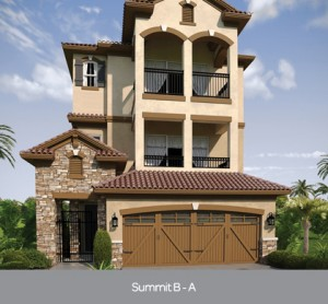Summit B model at Lakeside at Toscana