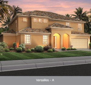 Versailles model vacation homes Solterra Resort Orlando