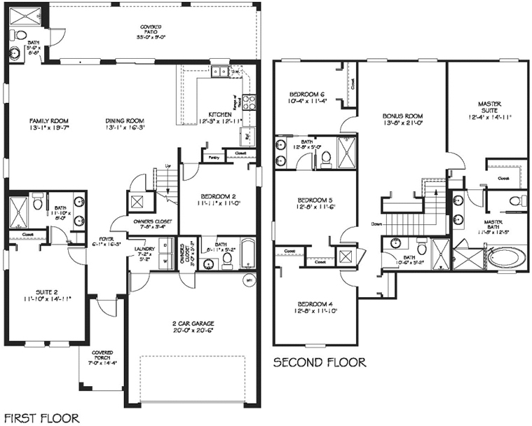 Cayman Floor Plan New Build Homesnew Build Homes