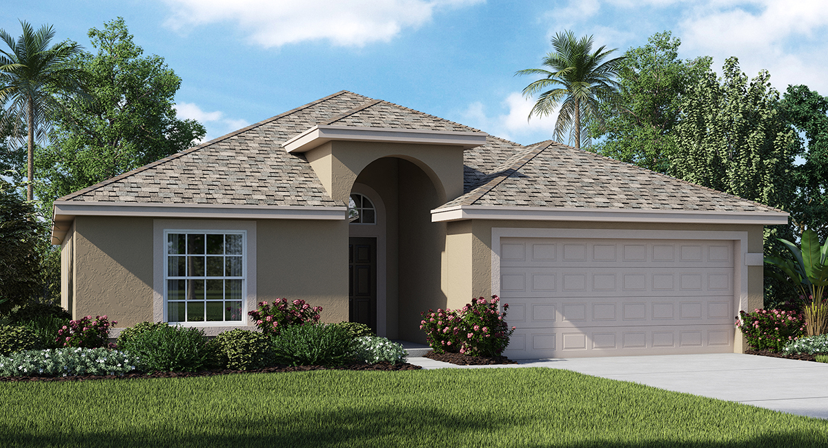 Cortland woods at providence new homes by lennar for Build your own house florida