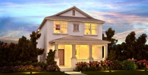 Angelou model at Windermere Trails Orlando by Meritage Homes