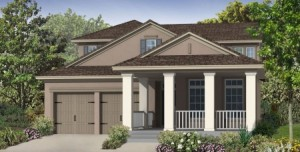 Barrett model at Windermere Trails Orlando by Meritage Homes