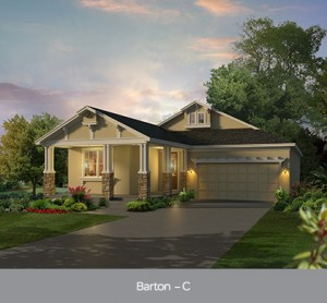 Harmony Florida Community. New homes by Park Square Homes.  Barton model