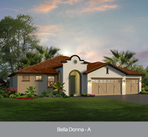 Bella Donna at Edgewater at Bellalago new construction homes Orlando