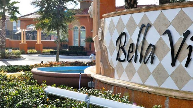 Bellavida Resort community. New vacation homes for sale near Disney