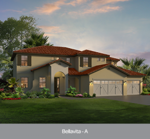 Bellavita at Edgewater at Bellalago new construction homes Orlando