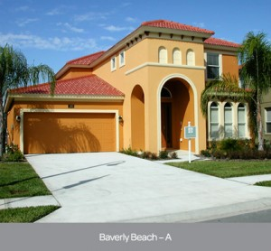 Beverley Beach model at Watersong Resort in Orlando by Park Square Homes