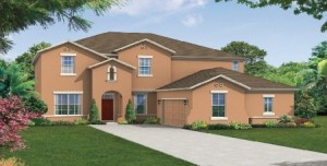 Camellia model at Windermere Trails Orlando by Meritage Homes