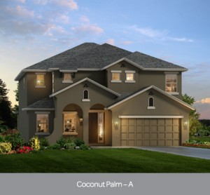 Coconut Palm model at Watersong Resort in Orlando by Park Square Homes