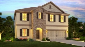 Lake Preserve Orlando – Cumberland model by Meritage