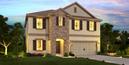 Lake Preserve Windermere by Meritage Homes - Cumberland model