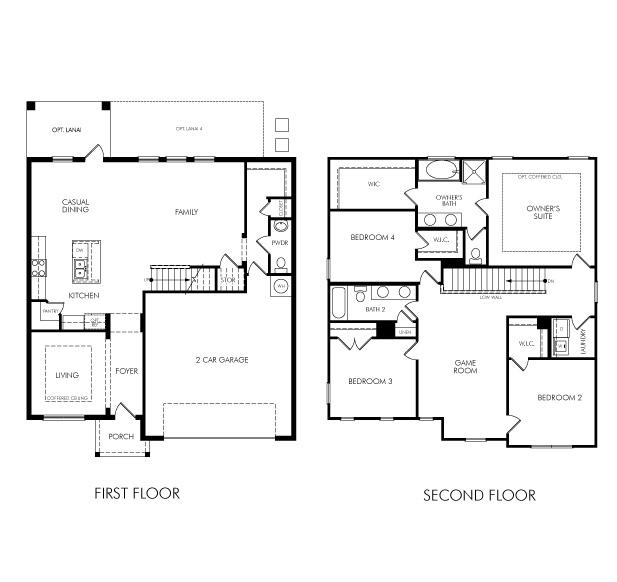 Meritage Apartments: Lake Preserve Cumberland Model