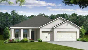 Cypress model at Tapestry in Kissimmee by Beazer