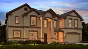 Lake Preserve Orlando Del Ray model by Meritage