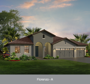 Florenzo at Edgewater at Bellalago new construction homes Orlando