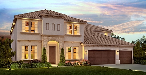 Granada Model Parkside Dr Phillips.New Luxury Homes Near Disney By Meritage  Homes.
