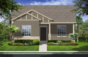 Harmony Florida Community. New homes by Lennar. Beaumont model