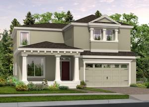 Harmony Florida Community. New homes by Lifestyle Homes.  Bimini model