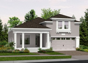 Harmony Florida Community. New homes by Lifestyle Homes.  Cayman model