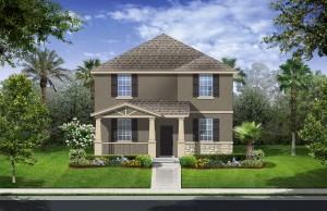 Harmony Florida Community. New homes by Lennar. Delray model