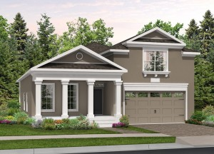 Harmony Florida Community. New homes by Lifestyle Homes.  Grand Cayman model