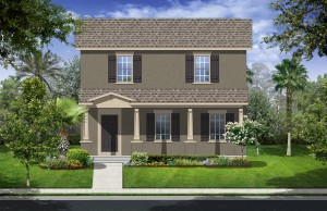 Harmony Florida Community. New homes by Lennar. Hawthorne model