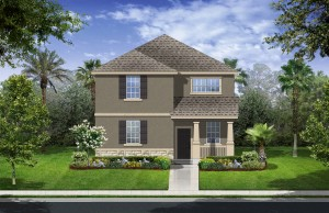 Harmony Florida Community. New homes by Lennar. Rio model