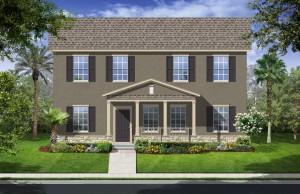 Harmony Florida Community. New homes by Lennar. Santa Cruz model