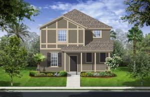 Harmony Florida Community. New homes by Lennar. Solana model