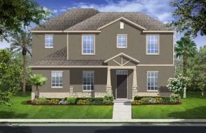 Harmony Florida Community. New homes by Lennar. Westport model