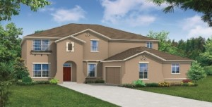 Hawthorne model at Windermere Trails Orlando by Meritage Homes