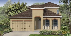 Hemingway model at Windermere Trails Orlando by Meritage Homes