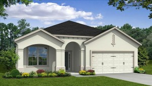 Jessup III model at Tapestry in Kissimmee by Beazer