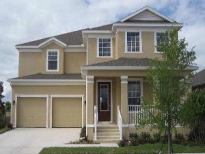 Lancaster II model Waters Edge at Lake Nona new homes for sale in Orlando