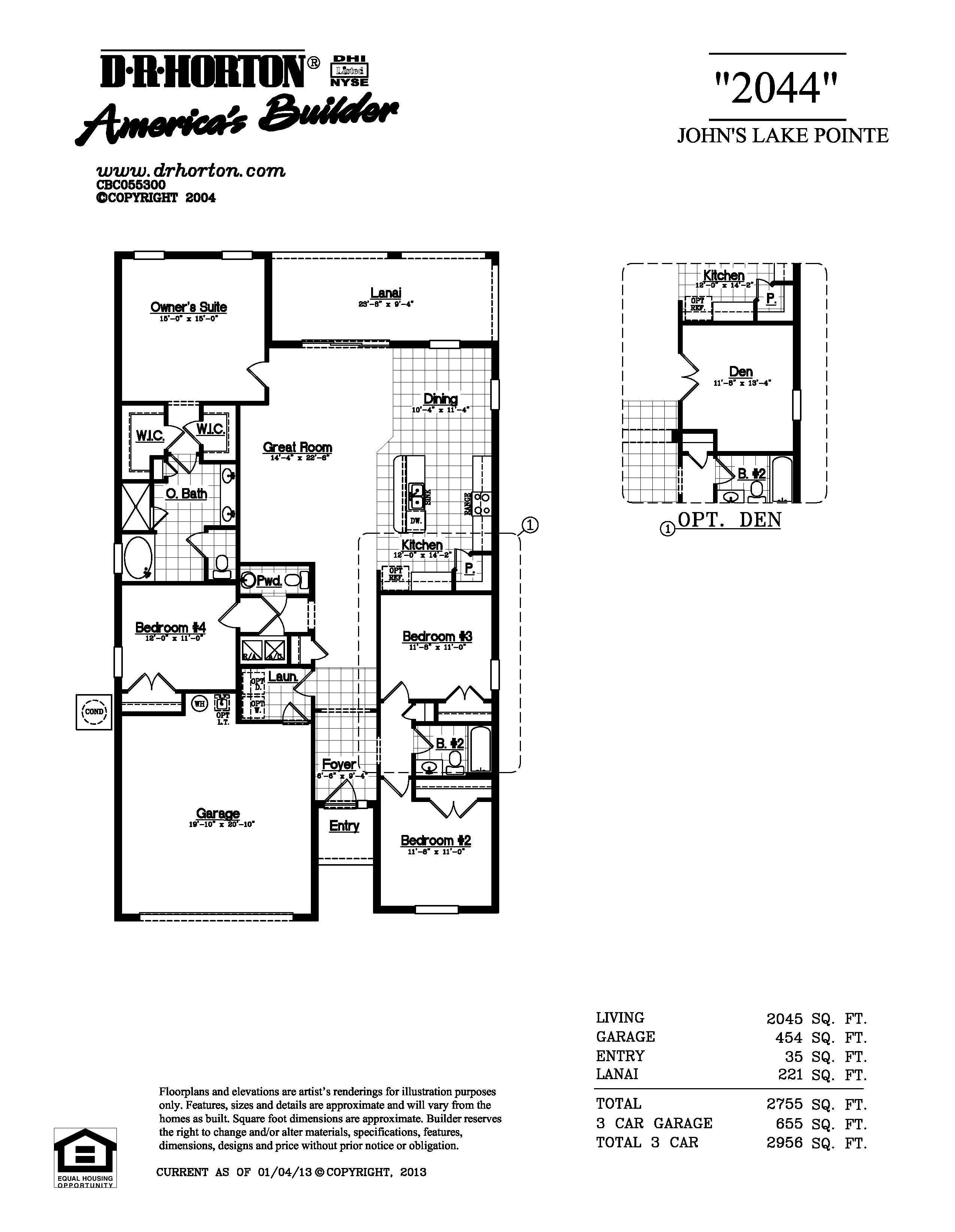lantana floor plan