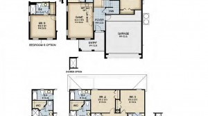 Mendocino floorplan at Bellavida Resort in Kissimmee near DIsney