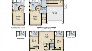Monterey floorplan at Bellavida Resort in Kissimmee near DIsney