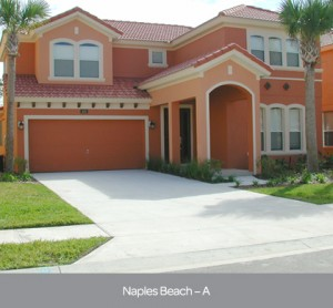 Naples Beach model at Watersong Resort in Orlando by Park Square Homes
